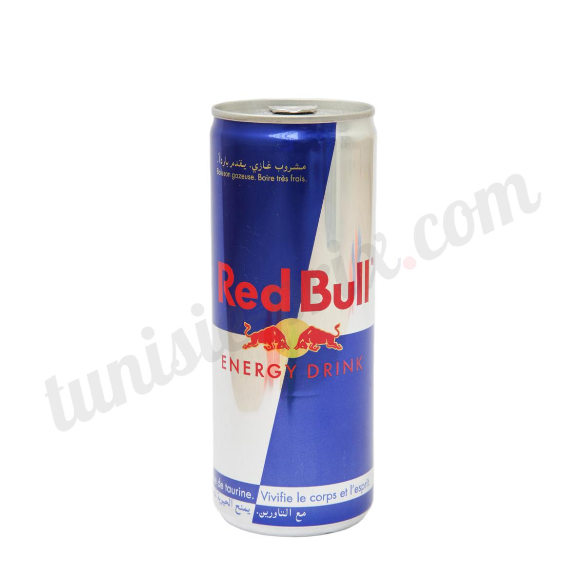 boisson nerg tique red bull 250ml tunisie. Black Bedroom Furniture Sets. Home Design Ideas
