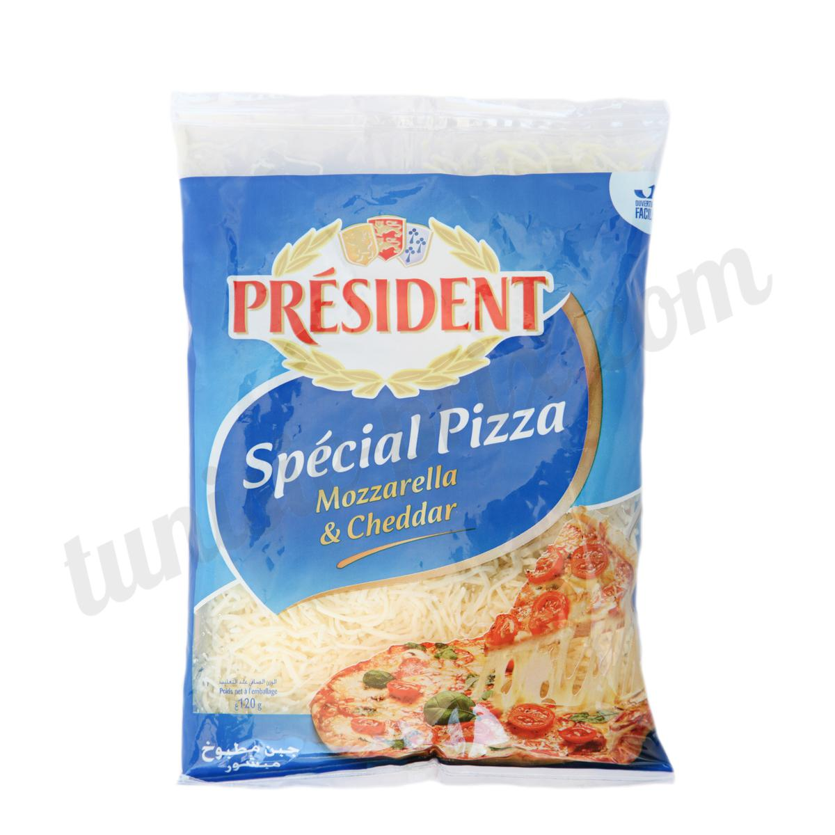 Fromage r p sp cial pizza pr sident 120g tunisie for Fromage en special