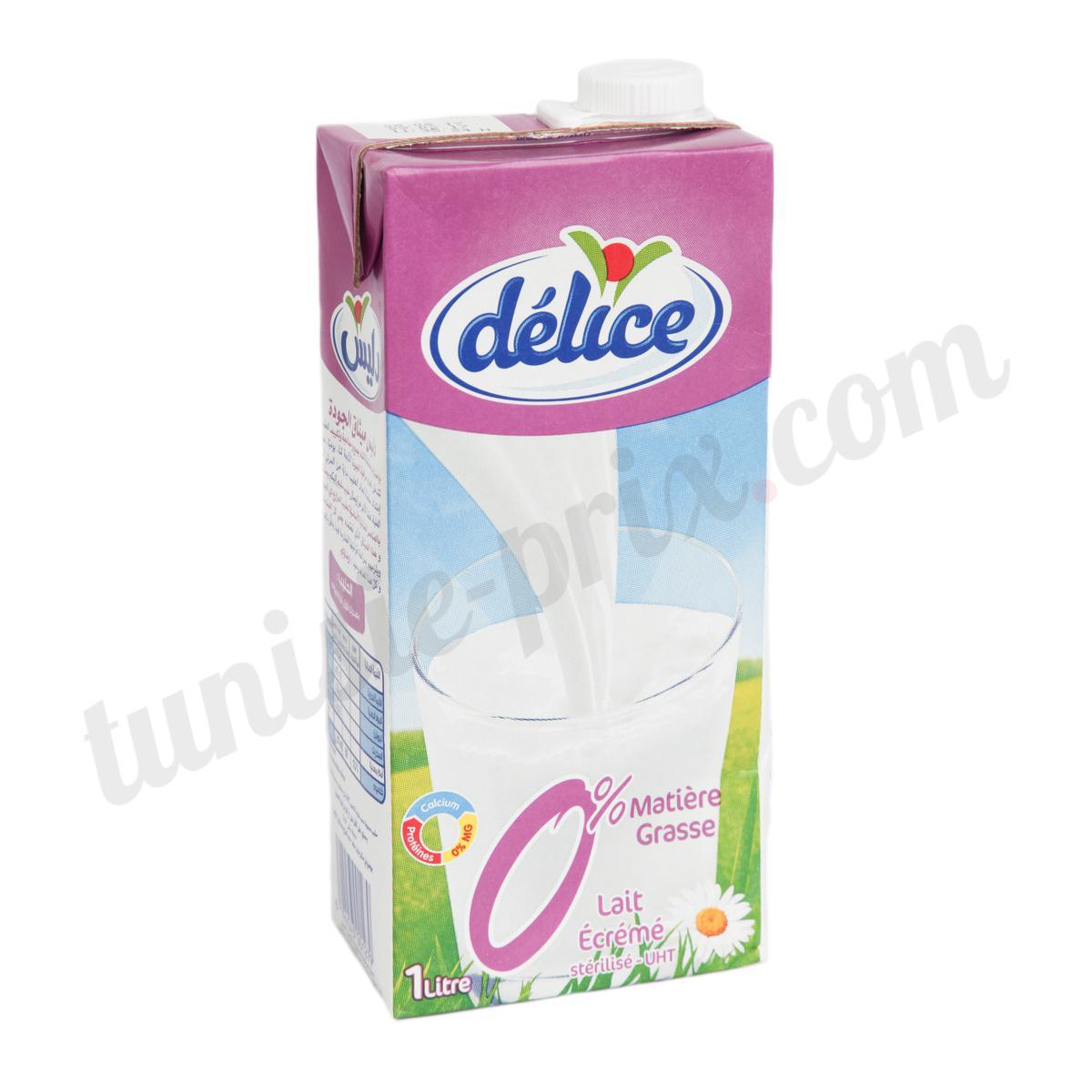 prix lait écrémé