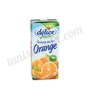Jus orange Délice 20cl
