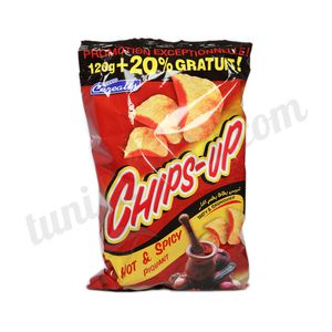 Chips-up piquant 120g