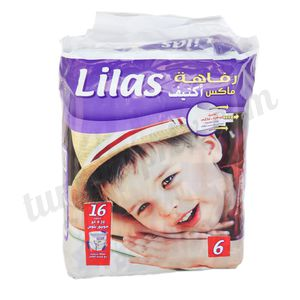 Couche Lilas Confort taille 6 (16kg+)