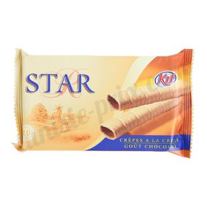 Biscuits cigares chocolat Star Kif 60g