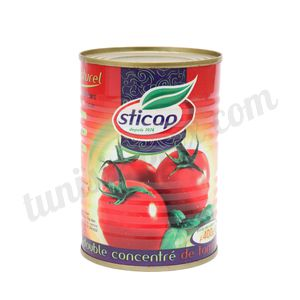 Double concentré de tomate Sticap 400g