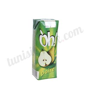 Jus poire Oh! 25cl