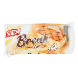 Lot de 4 Break vanille Saïda 4x35g