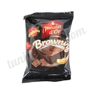 Browniz chocolat Moulin d'Or 55g