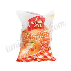 Muffin's abricot Moulin d'Or 55g