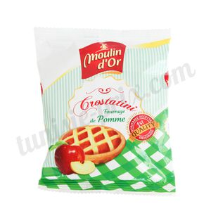 Crostatini pomme Moulin d'Or 65g