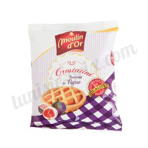 Crostatini figue Moulin d'Or 65g