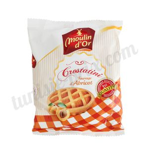 Crostatini abricot Moulin d'Or 65g