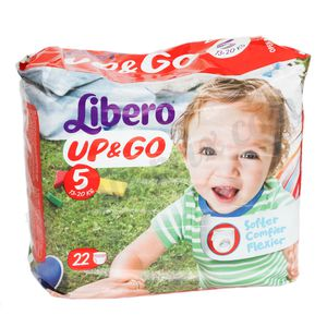 Couche Libero Up&Go taille 5 (13-20Kg)